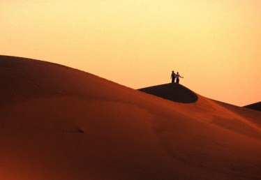Honeymoon in Sand Dunes